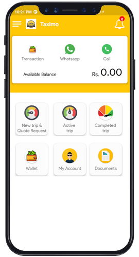 Book an Taximo Taxi from the App